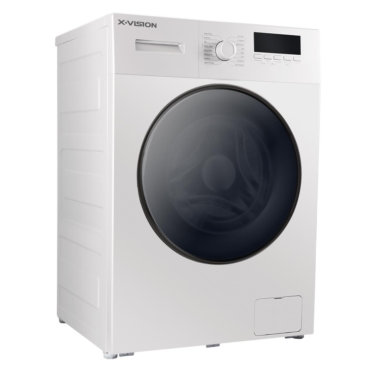 ماشین لباسشویی ایکس ویژن مدل TE72-AW/AS ظرفیت 7 کیلوگرم