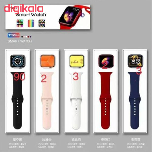 ساعت هوشمند دات کاما مدل +T55 main 1 13