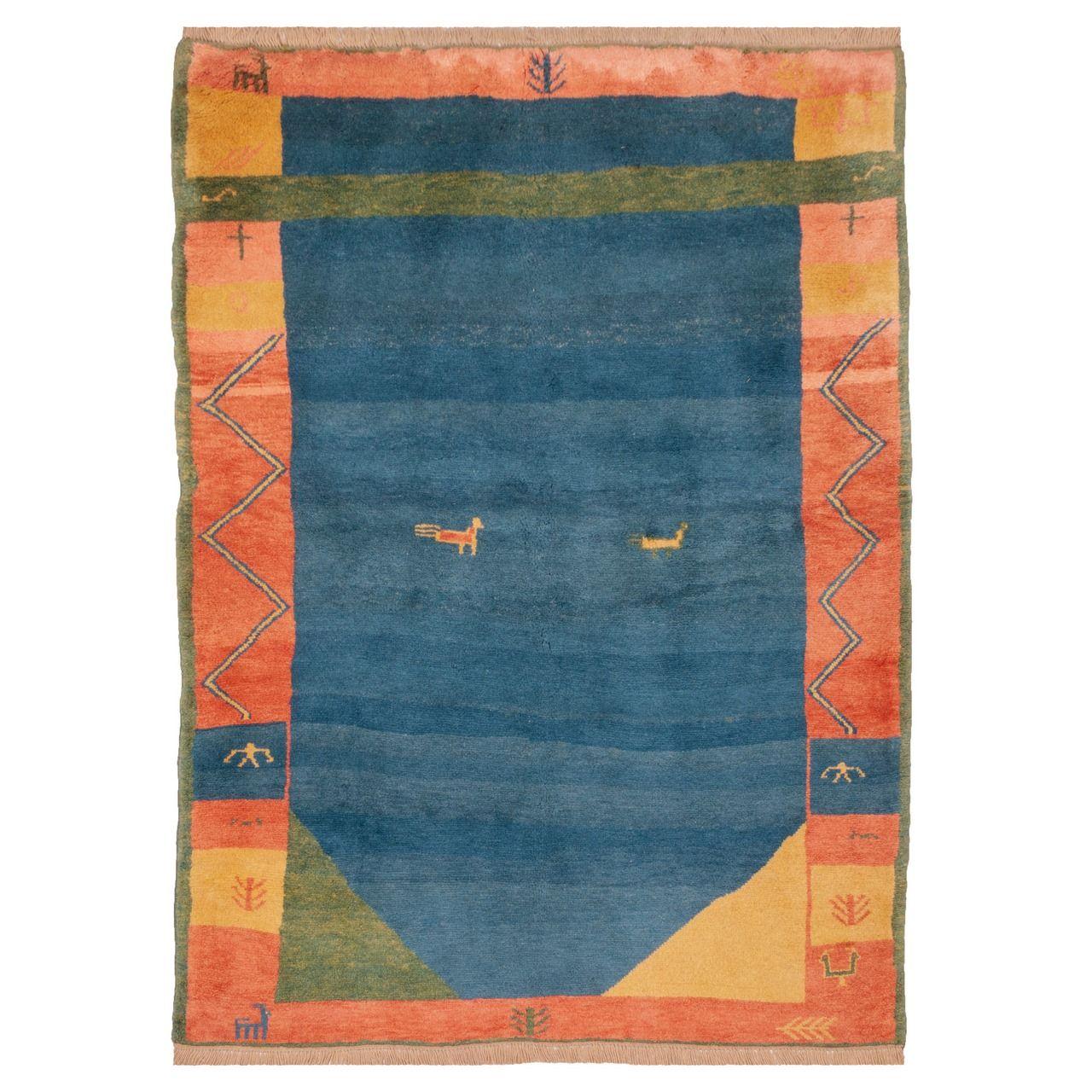 گبه دستباف چهار متری سی پرشیا کد 171465