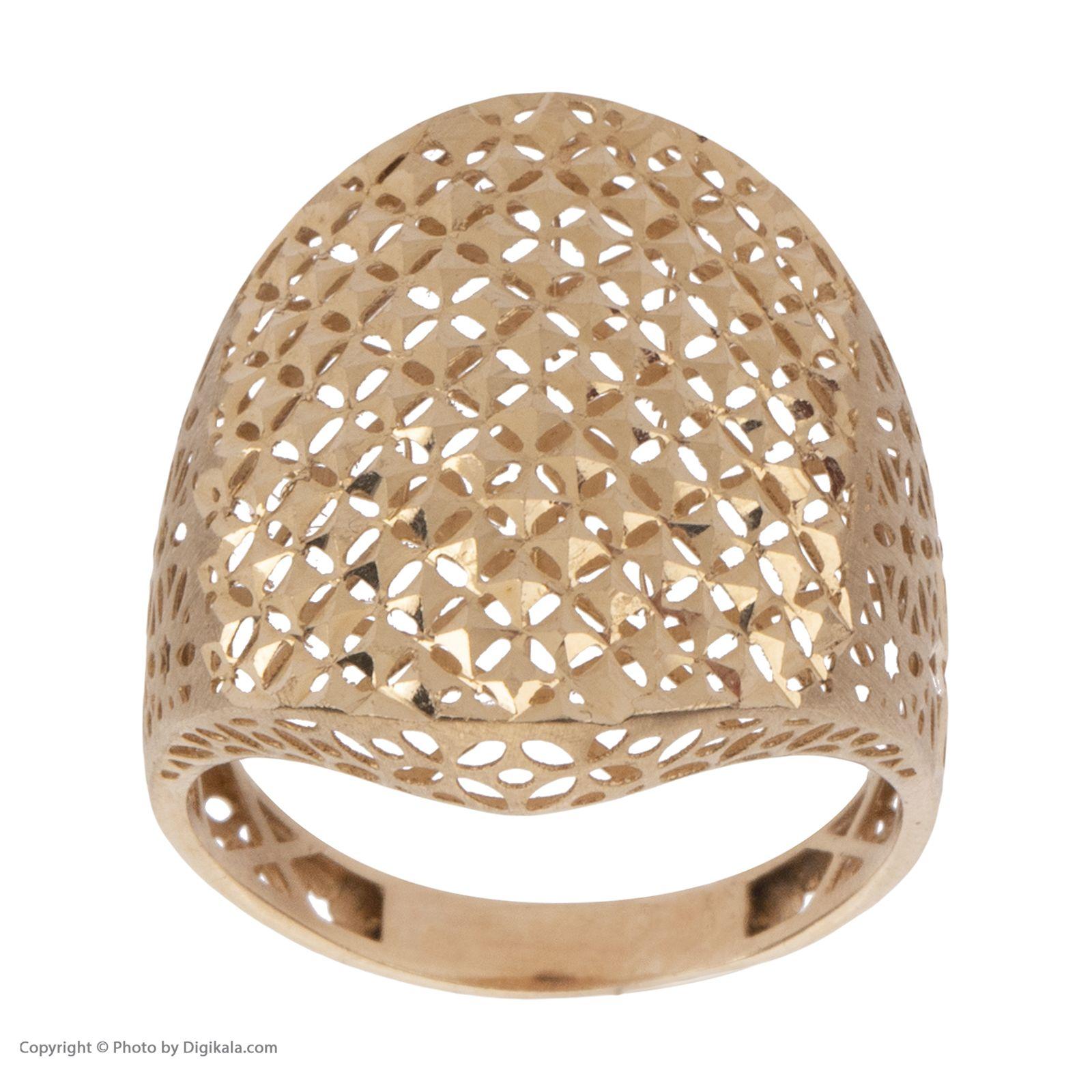 انگشتر طلا 18 عیار زنانه مایا ماهک مدل MR0378 -  - 3