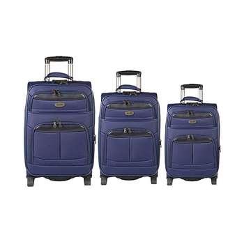 مجموعه سه عددی چمدان مدل تاپ یورو2