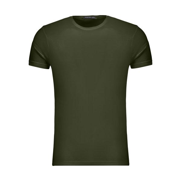 تیشرت آستین کوتاه مردانه ادورا مدل 29915031 رنگ سبز
