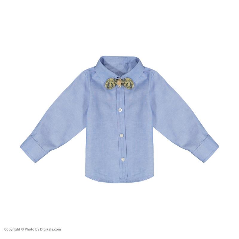 ست 3 تکه لباس پسرانه ببوش مدل 2141200-13