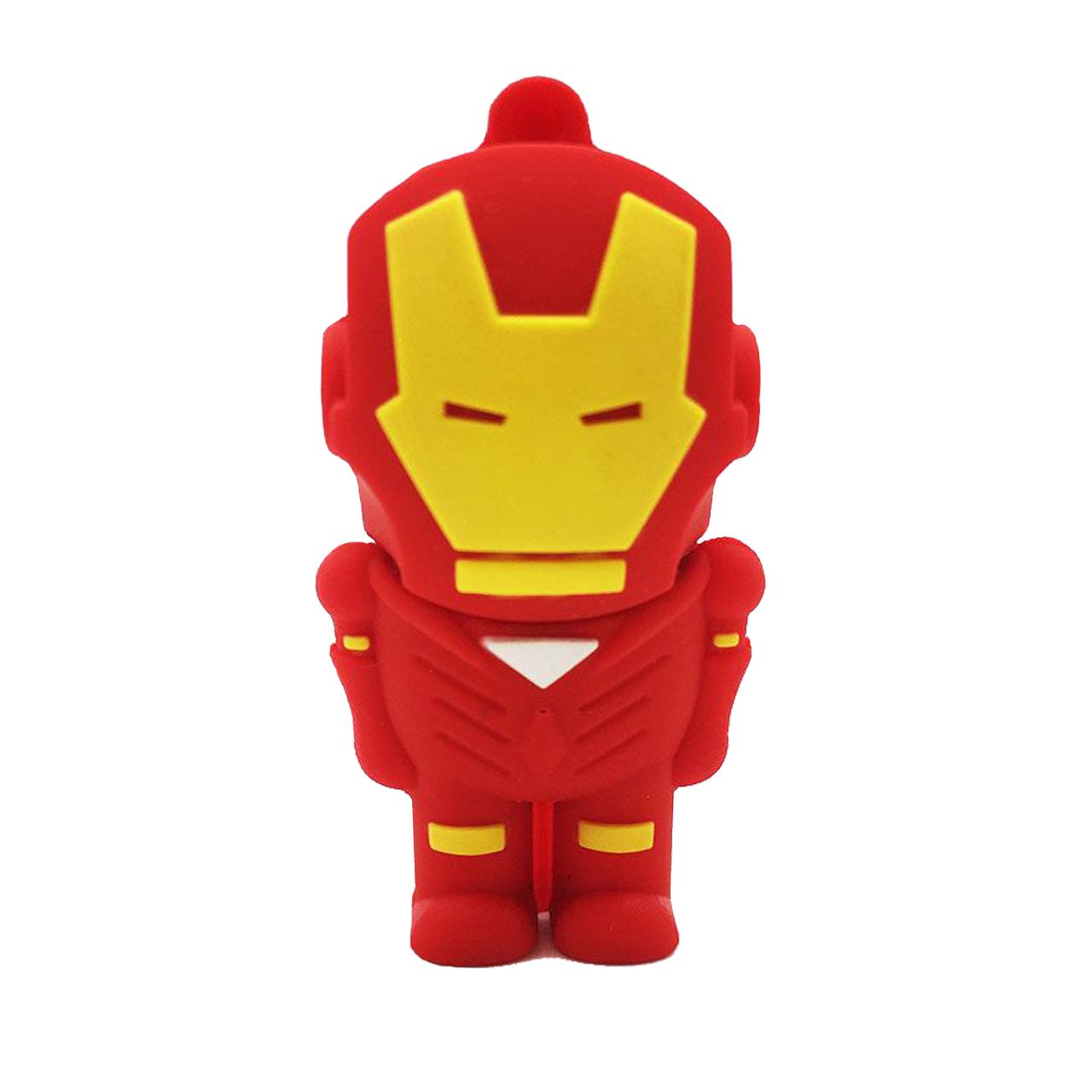 بررسی و {خرید با تخفیف} فلش مموری طرح مرد آهنی مدل Ul-Iron man01 ظرفیت 32 گیگابایت اصل