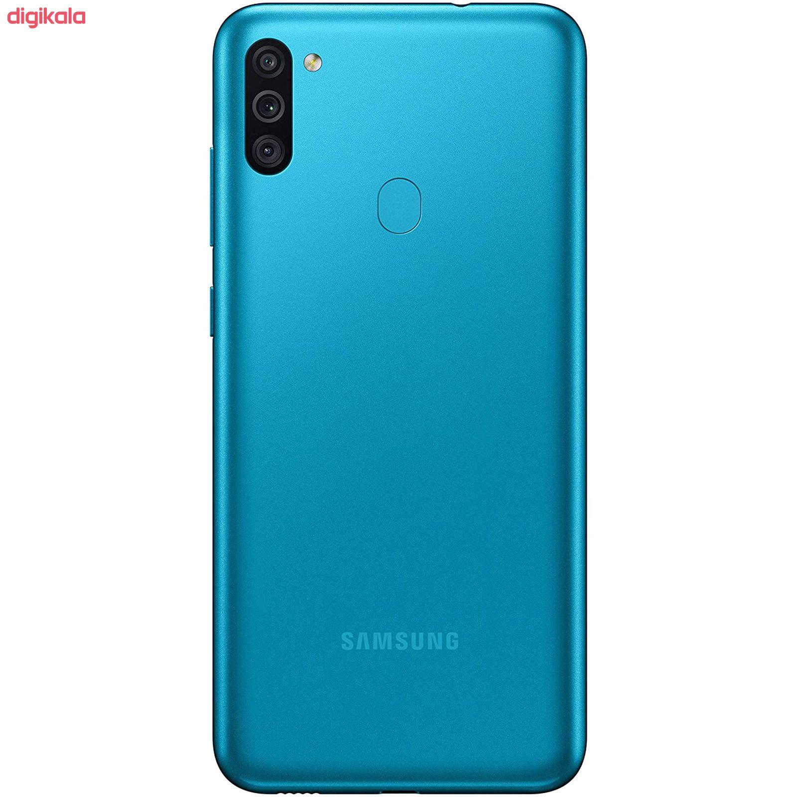 گوشی موبایل سامسونگ مدل  Galaxy M11 SM-M115F/DS دو سیم کارت ظرفیت 32 گیگابایت main 1 8