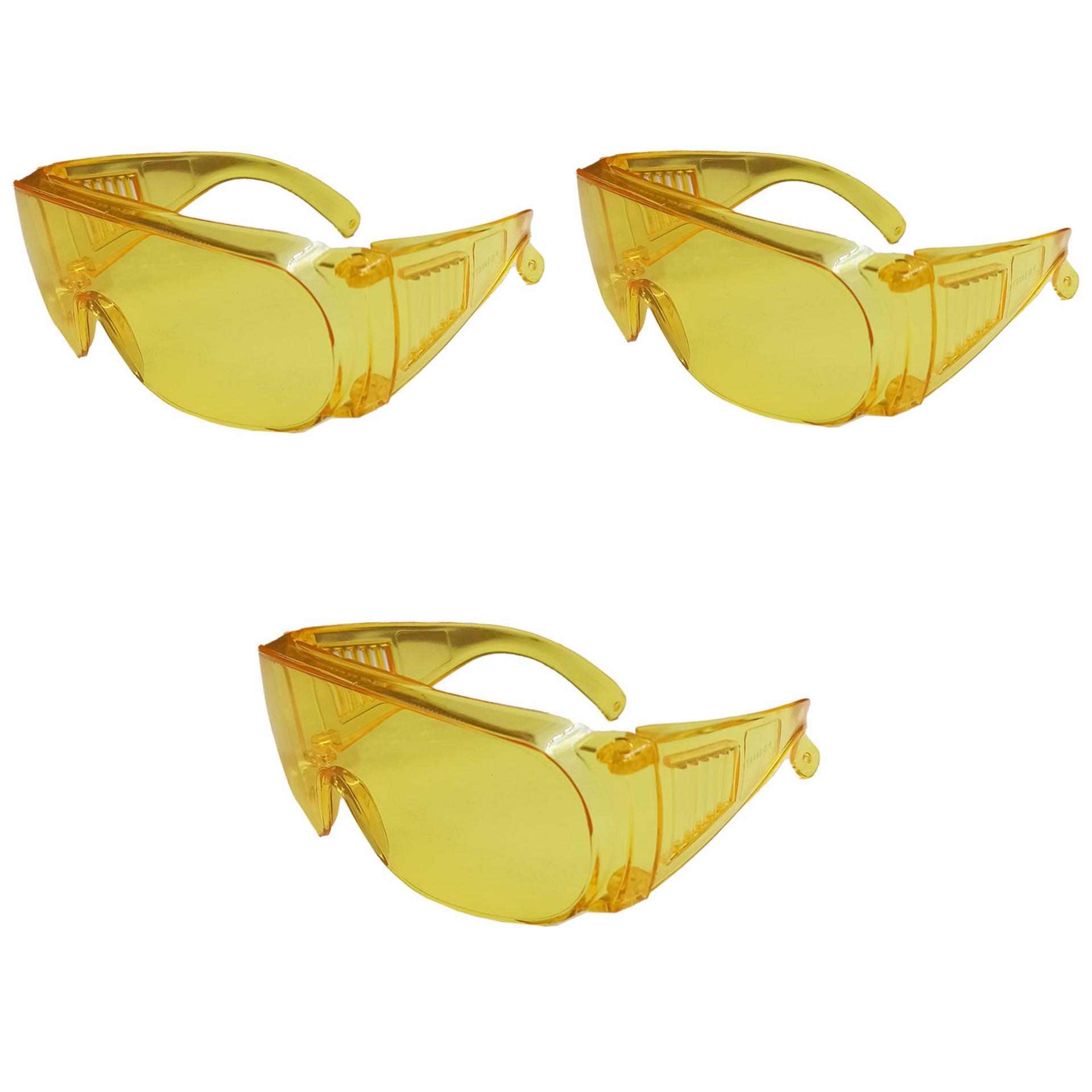عینک ایمنی مدل E367 مجموعه 3 عددی