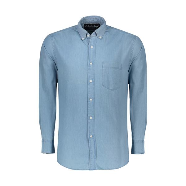 پیراهن مردانه هالیدی مدل 530528-LIGHTBLUE