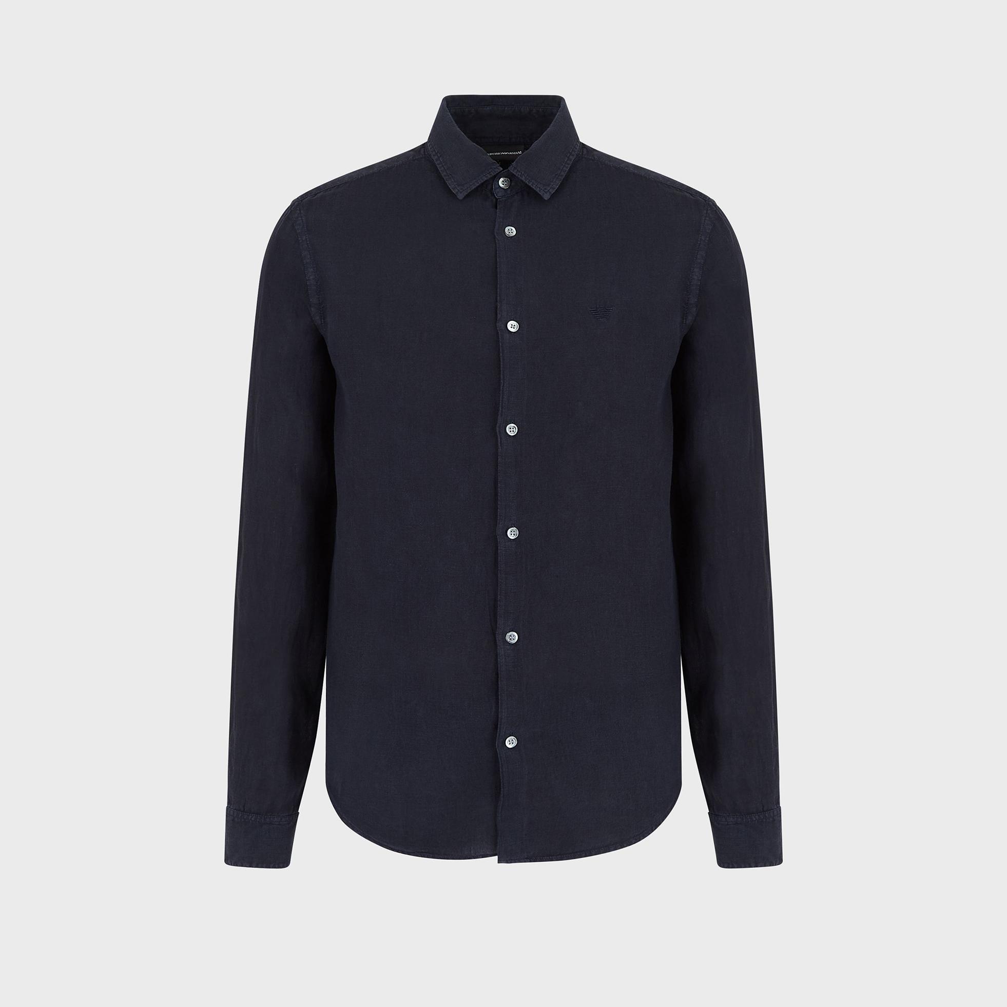 پیراهن آستین بلند مردانه امپریو آرمانی مدل 3H1CA51N5FZ-0924