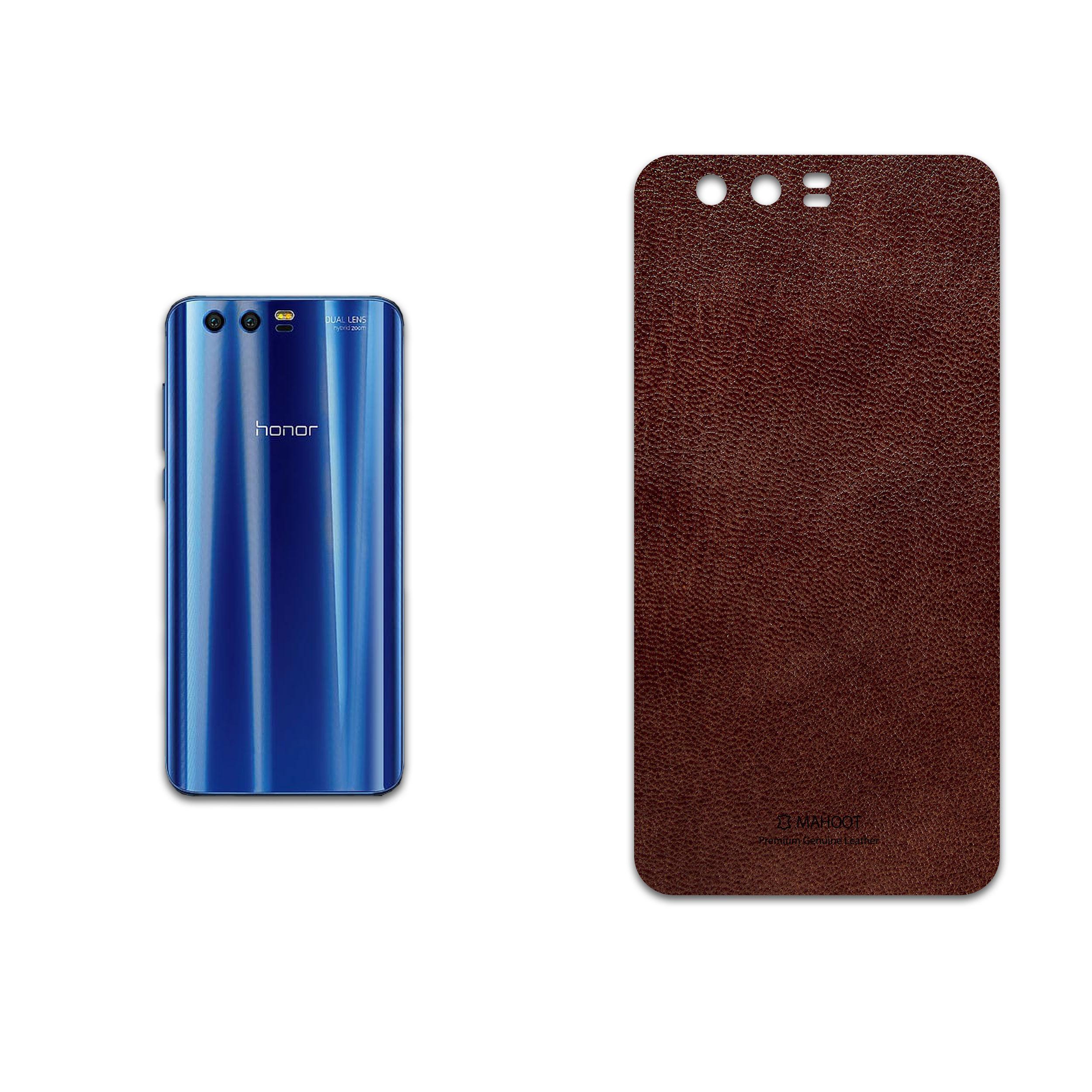 برچسب پوششی ماهوت مدل Natural-Leather مناسب برای گوشی موبایل آنر 9 thumb 2 1