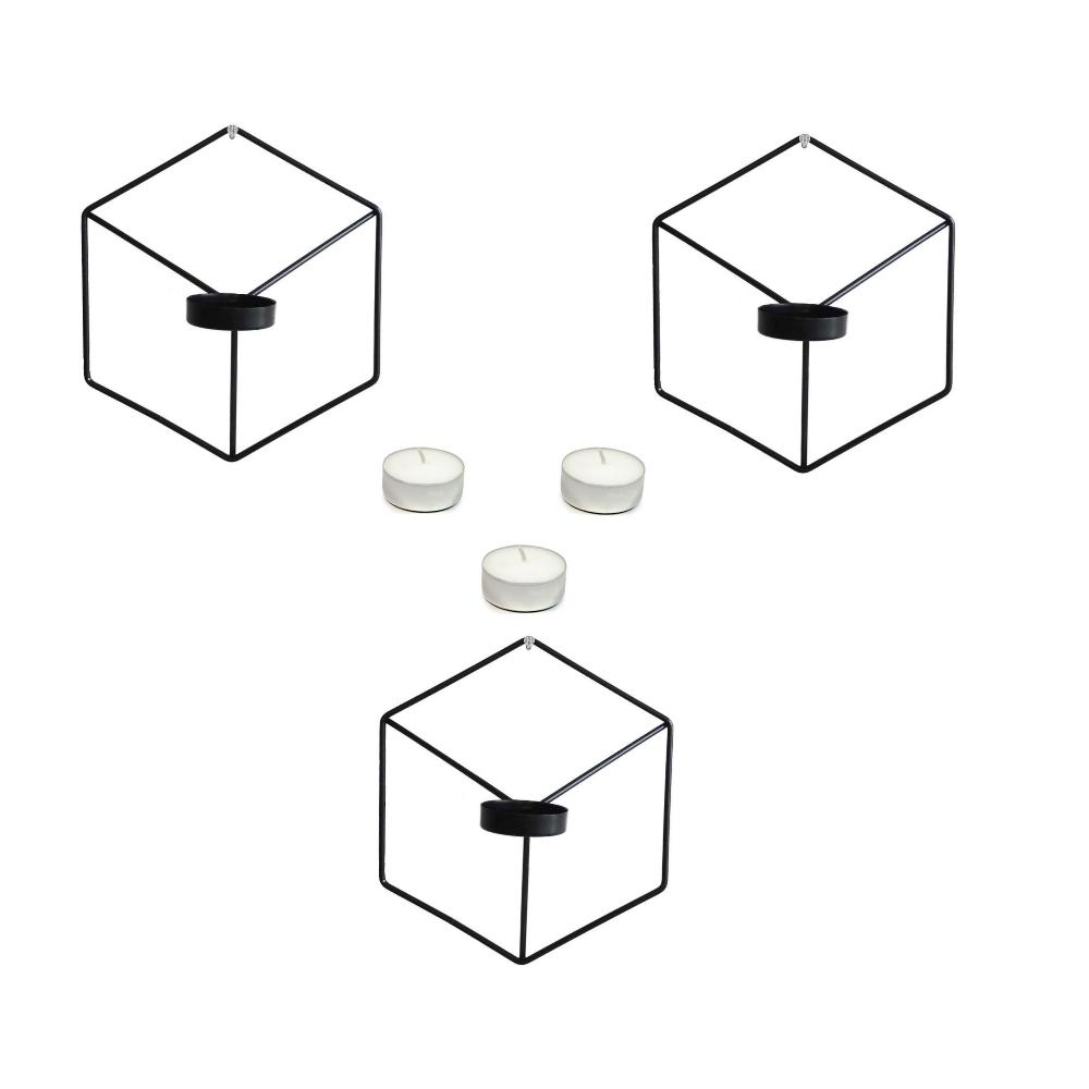 قیمت خرید جا شمعی مدل Ogips بسته سه عددی به همراه شمع اورجینال