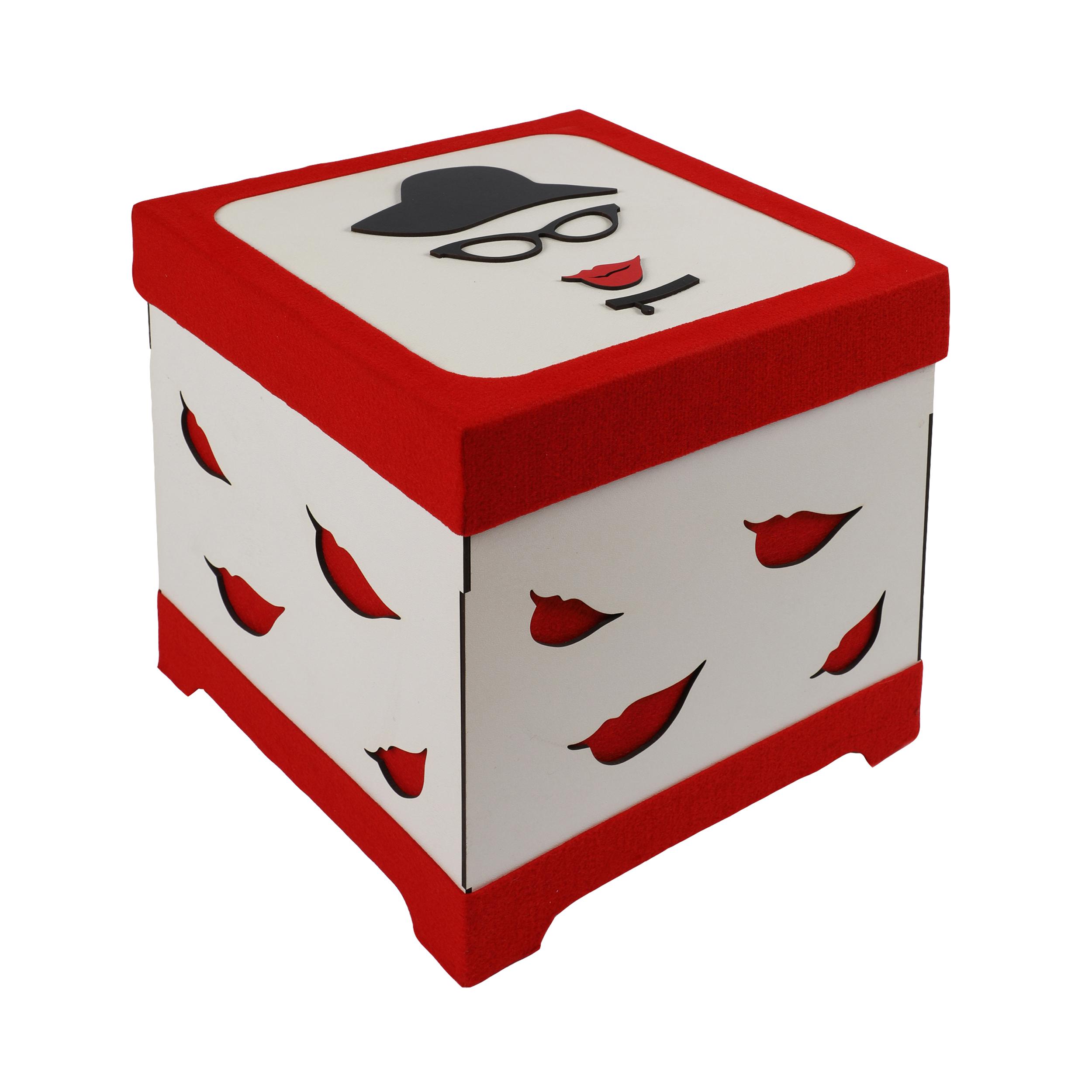 جعبه هدیه طرح زن مدل lb12