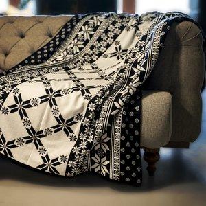 شال مبل و تخت مدل snow سایز 130x180سانتیمتر
