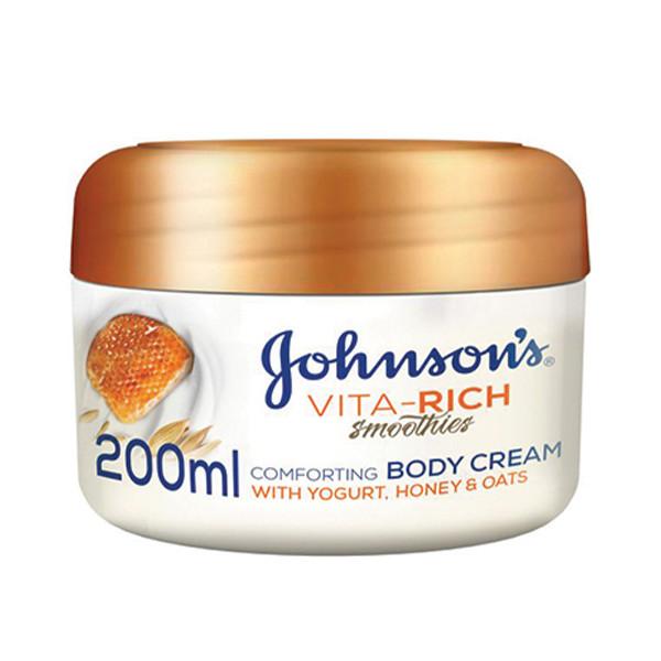 کرم نرم کننده جانسون مدل Vita-Rich Smoothies حجم 200 میلی لیتر