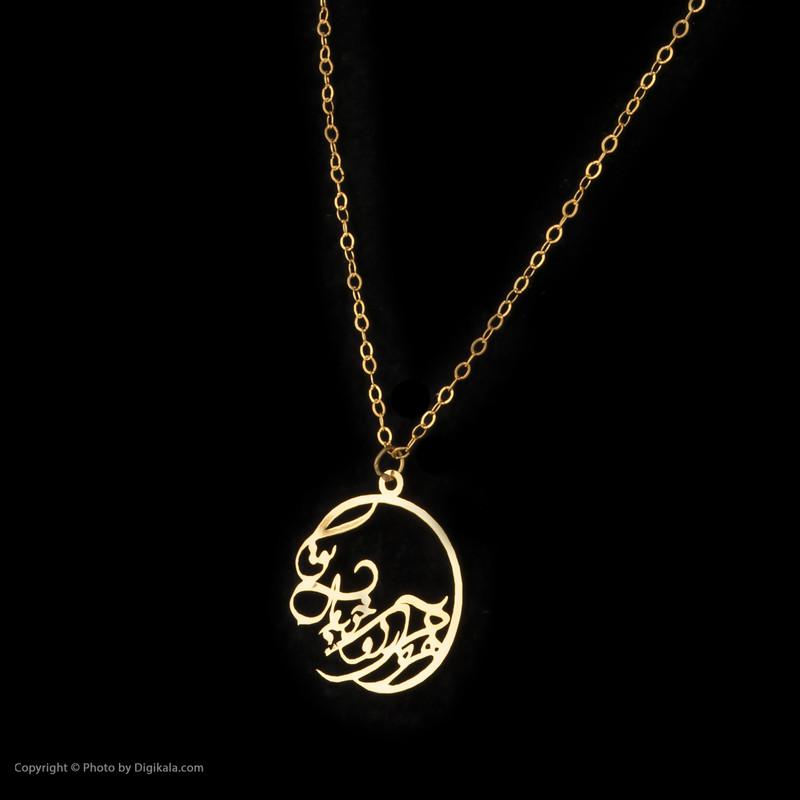 گردنبند طلا 18 عیار زنانه مایا ماهک مدل MM1129