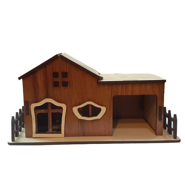 ماکت دکوری طرح خانه ویلایی مدل 0805