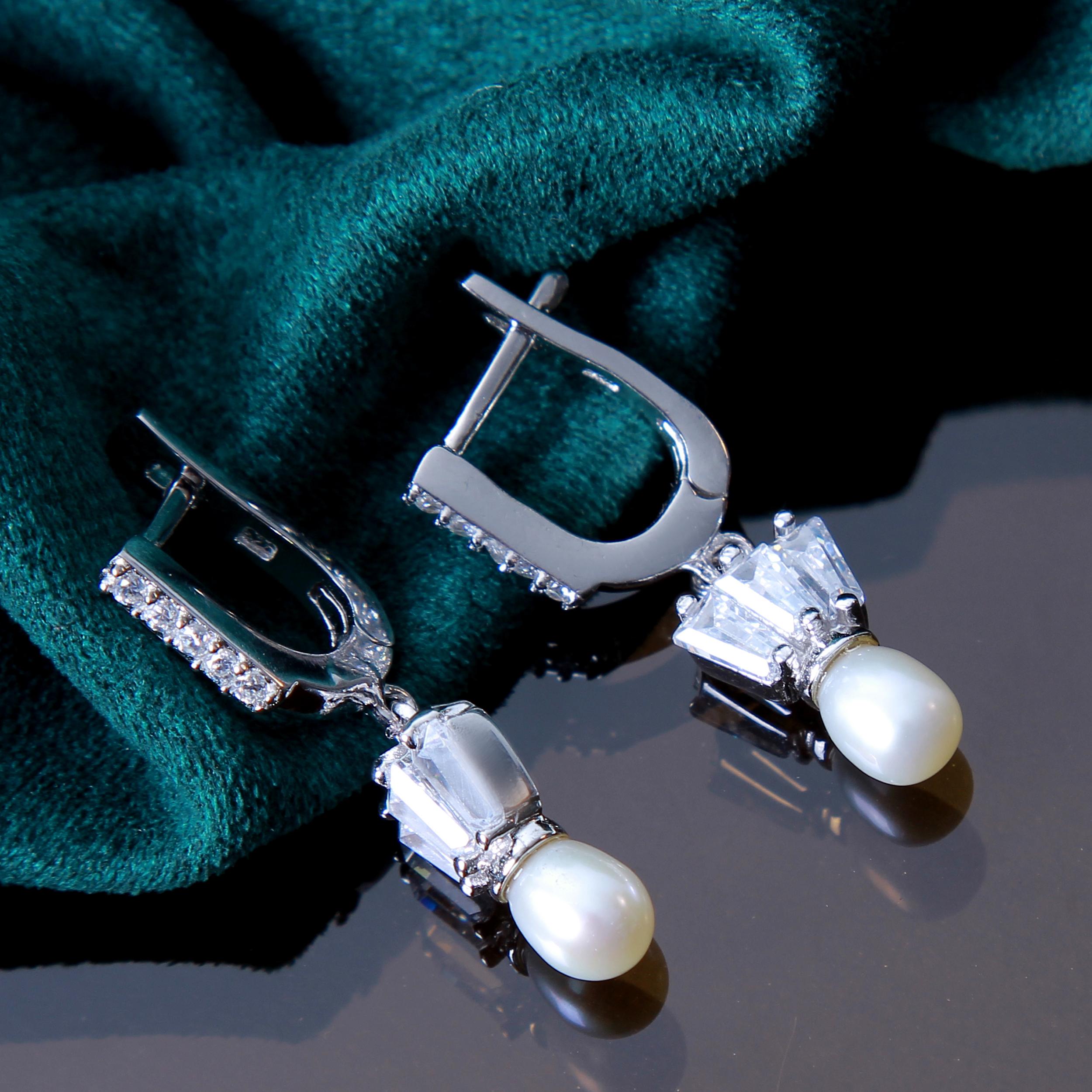 خرید                                       نیم ست نقره زنانه بازرگانی میلادی کد NTR_225
