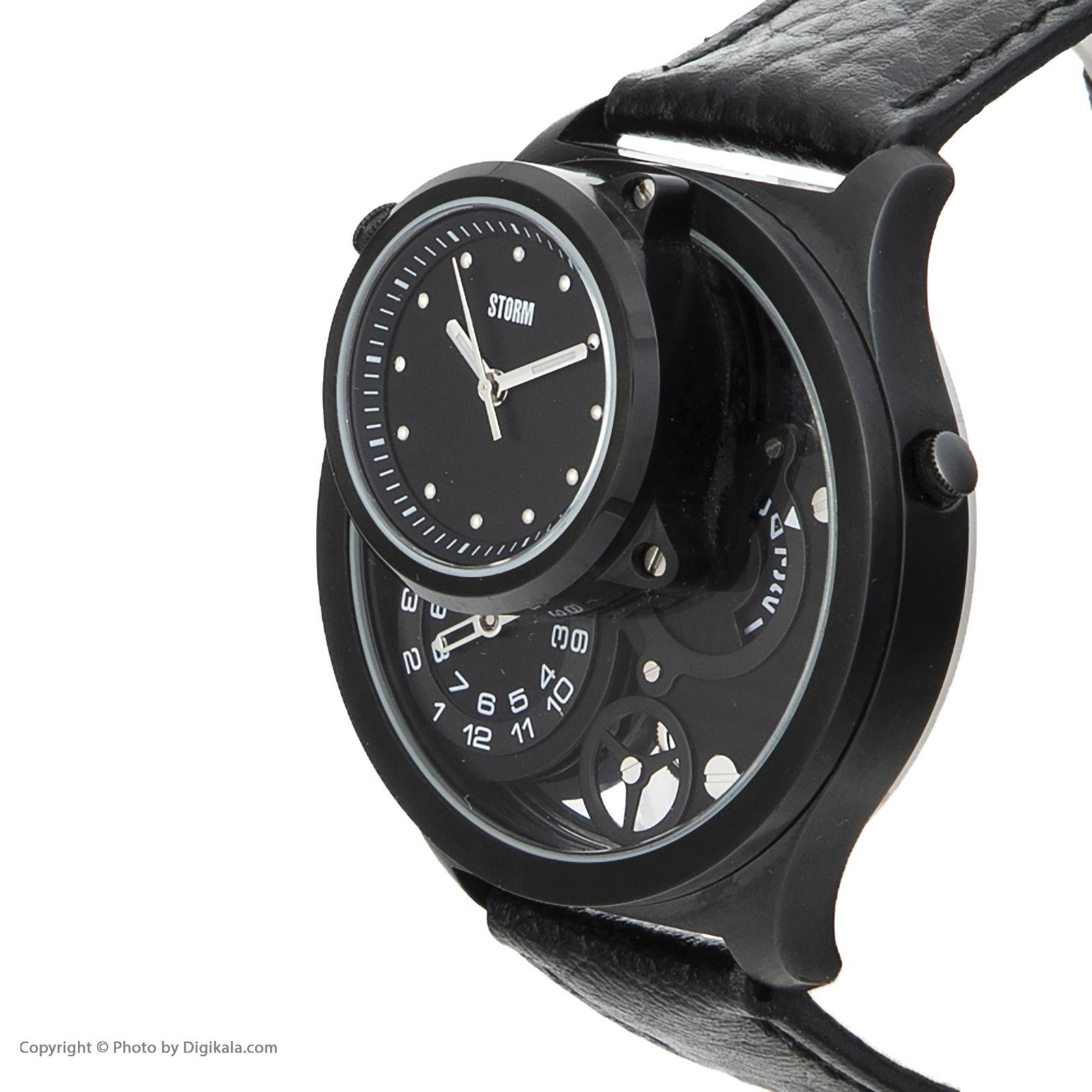 ساعت مچی عقربه ای مردانه استورم مدل ST 47144-SL -  - 5