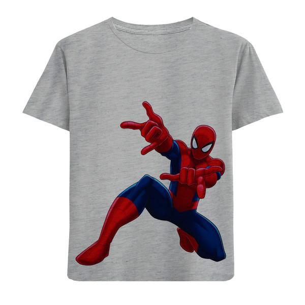 تی شرت بچگانه مدل مرد عنکبوتی F164
