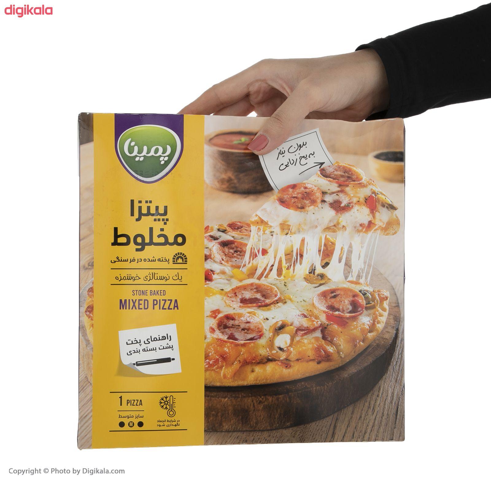پیتزا مخلوط پمینا کاله مقدار 450 گرم main 1 4