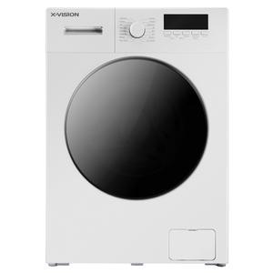 ماشین لباسشویی ایکس ویژن مدل TE62-AW/AS ظرفیت 6 کیلوگرم