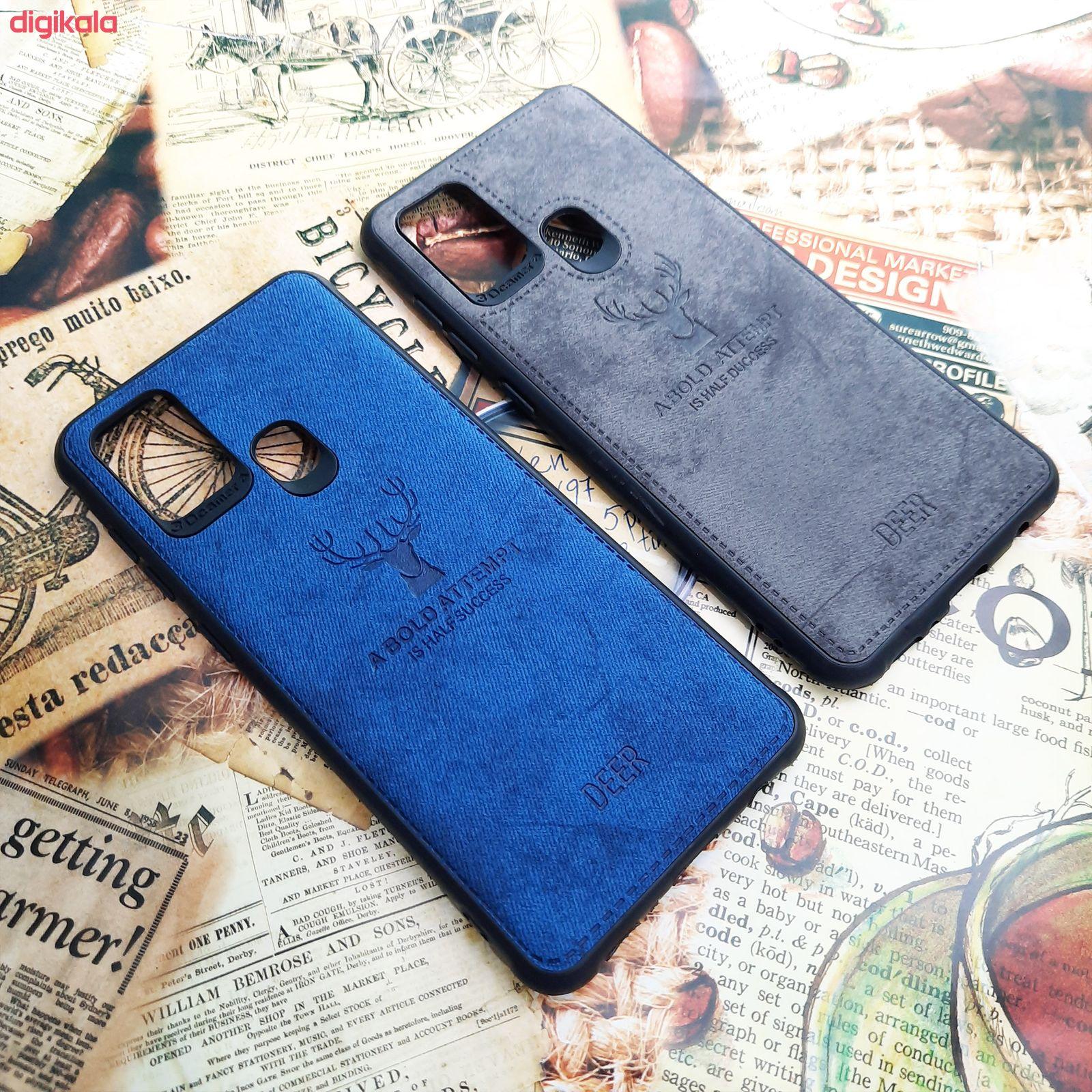 کاور مدل CO508 طرح گوزن مناسب برای گوشی موبایل سامسونگ Galaxy A21s main 1 2