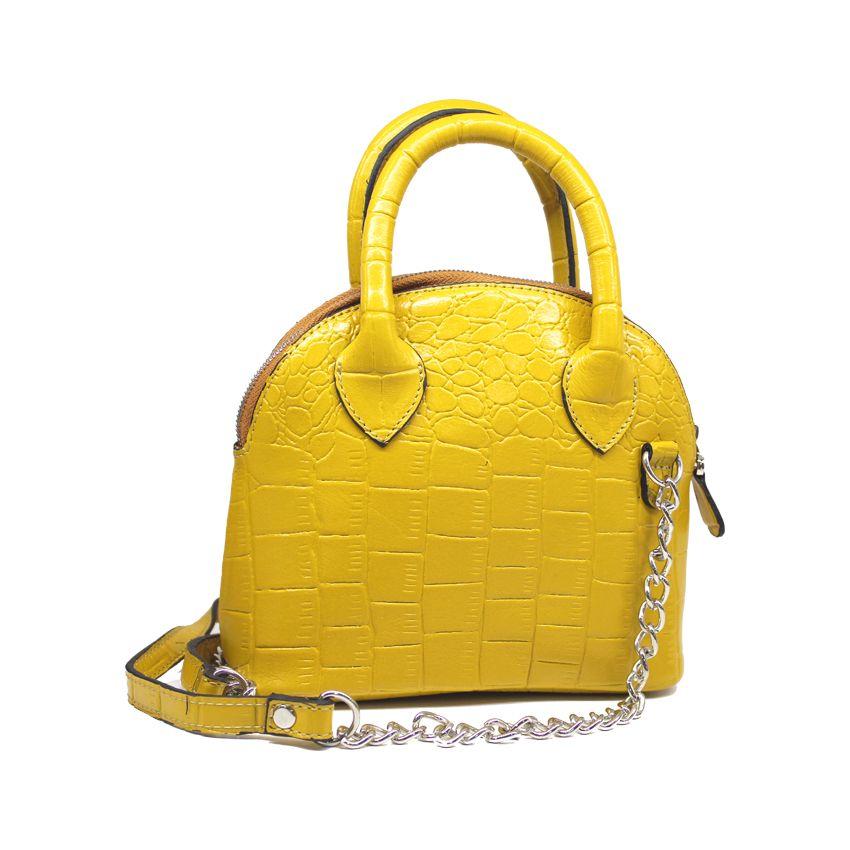 کیف دوشی زنانه چرم آرا مدل d076 -  - 10