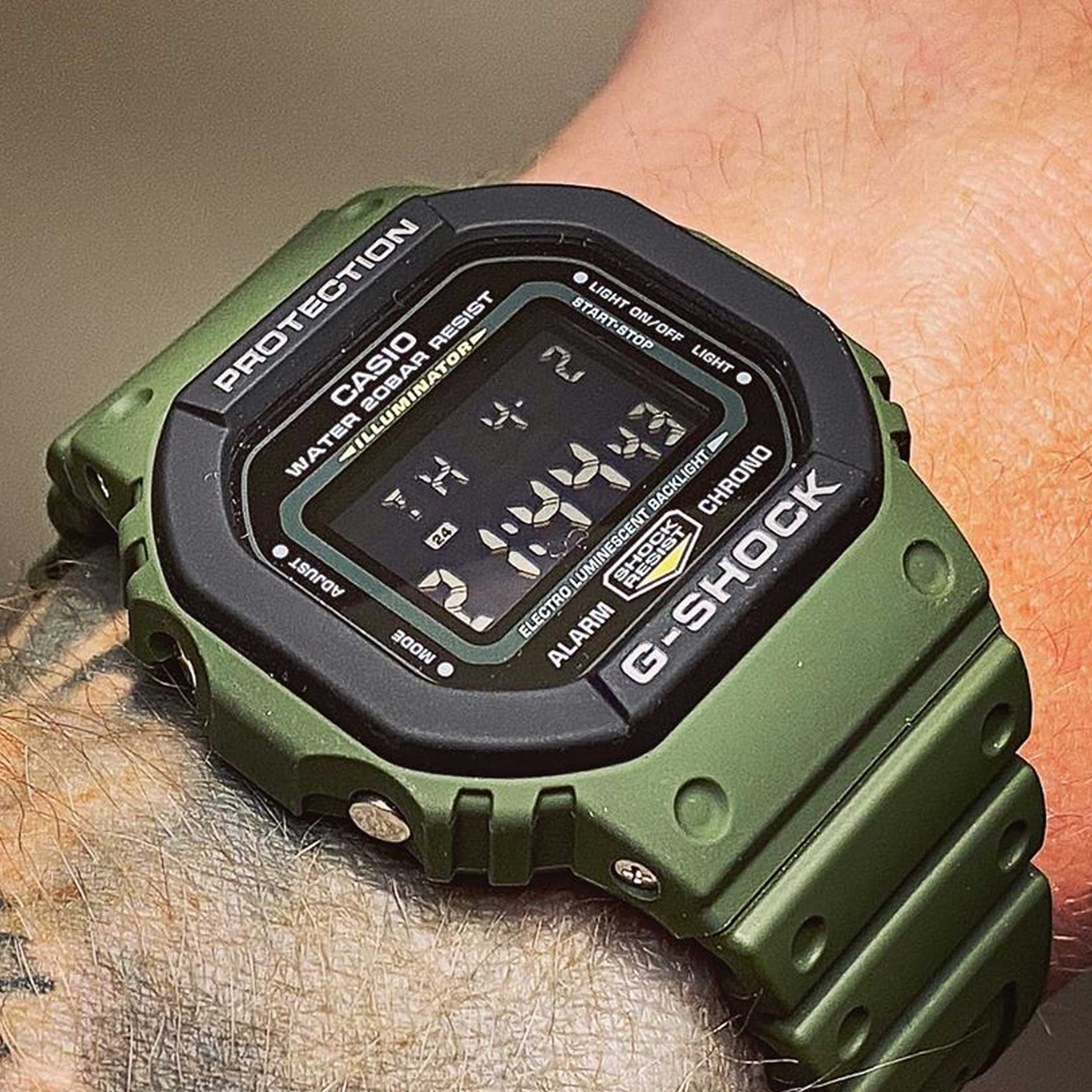 ساعت مچی دیجیتال کاسیو مدل DW-5610SU-3DR