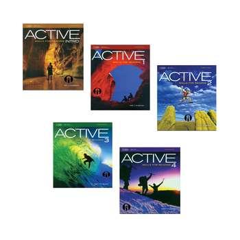 کتاب Active Skills For Reading اثر Neil J Anderson انتشارات الوندپویان پنج جلدی