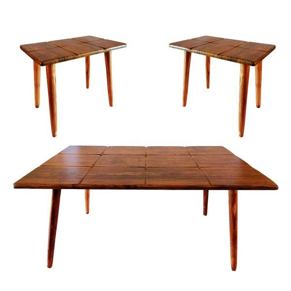 میز پذیرایی کد 400 مجموعه 3 عددی