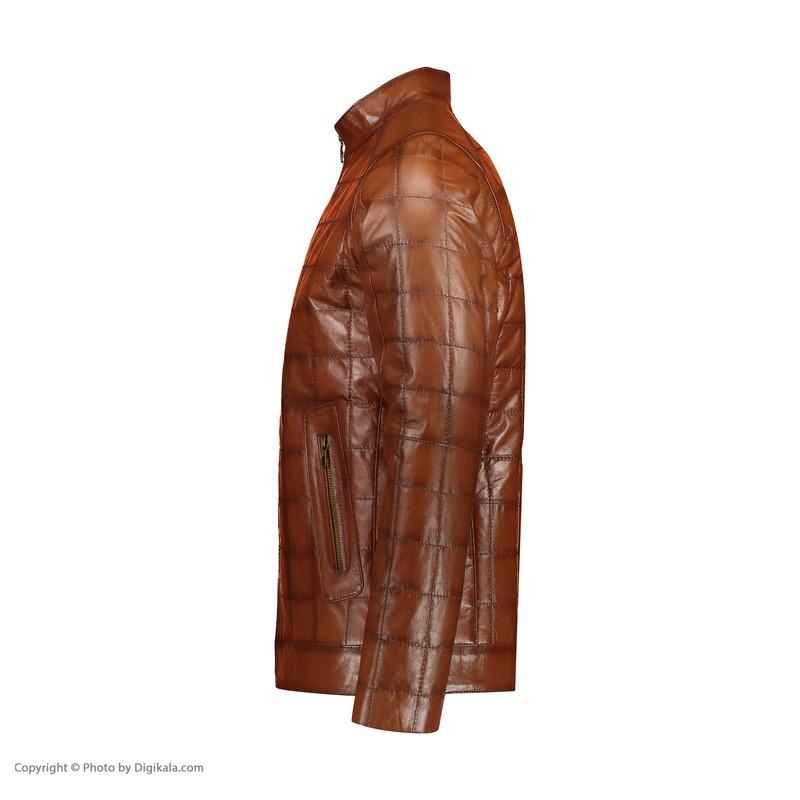 کت چرم مردانه شیفر مدل 2604-4