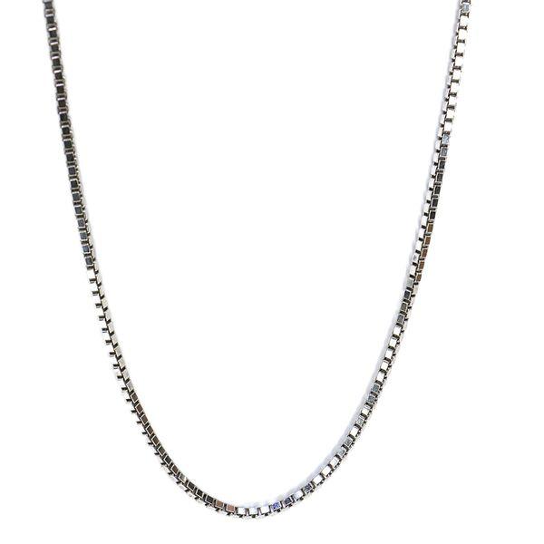 زنجیر نقره زنانه مدل ونزی کد NS068