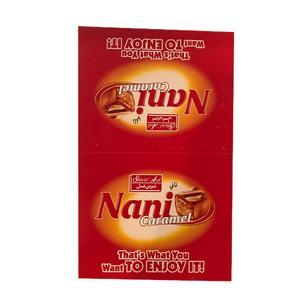 شکلات مغزدار نانی کارامل شیرین عسل بسته 30 عددی