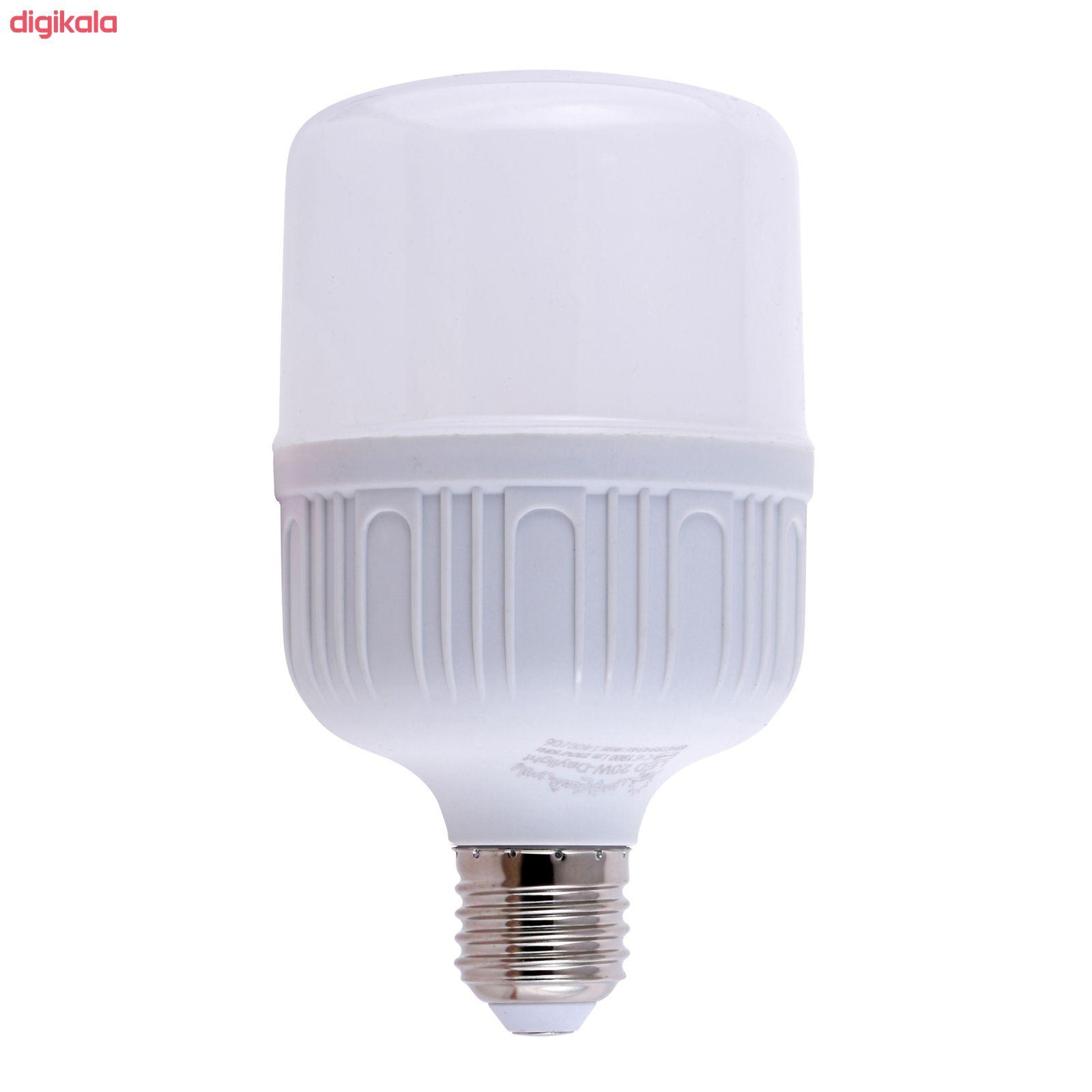 لامپ ال ای دی 20 وات پارس شعاع توس مدل CY20 پایه E27 main 1 2