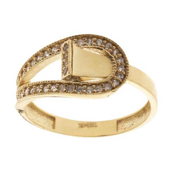 انگشتر طلا 18 عیار زنانه مایا ماهک مدل MR0582