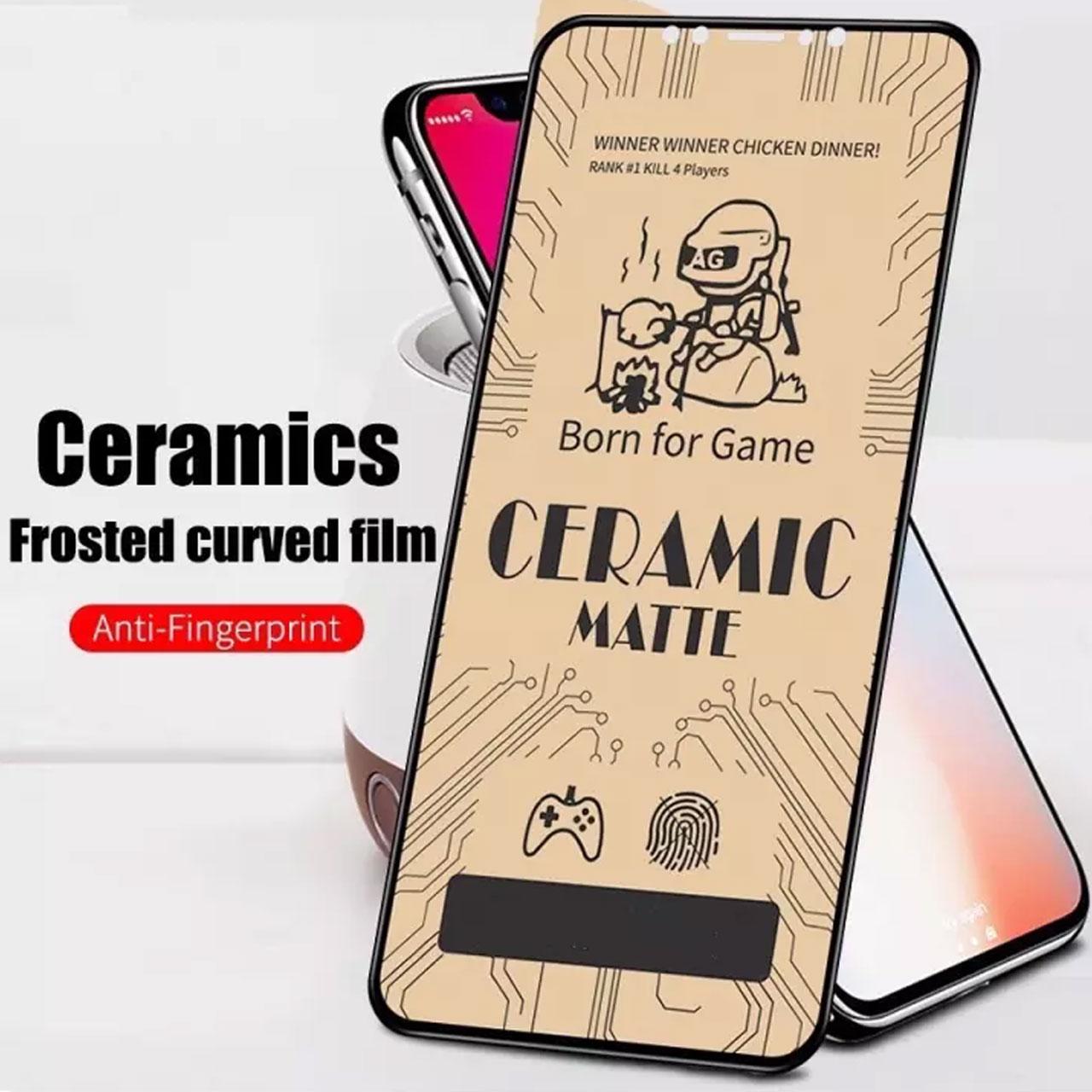محافظ صفحه نمایش مات نایت مدل CER-01 مناسب برای گوشی موبایل سامسونگ Galaxy A30S main 1 3