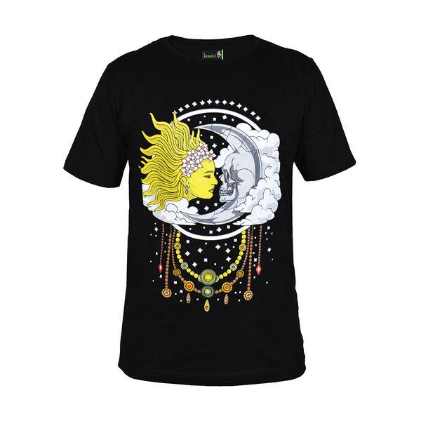 تی شرت آستین کوتاه زنانه مدل star and moon