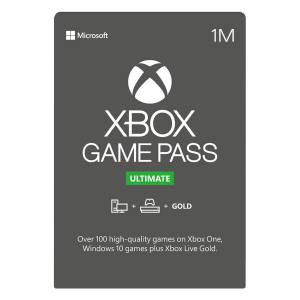 گیفت کارت یک ماهه ایکس باکس مدل Game Pass Ultimate