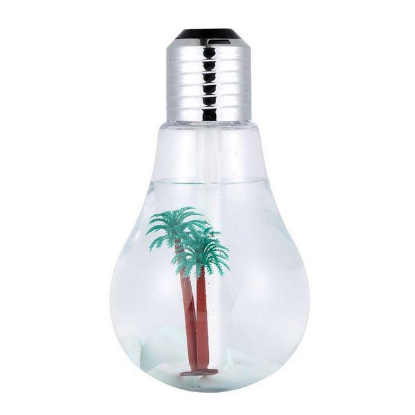 بخور سرد طرح لامپ مدل Night Light