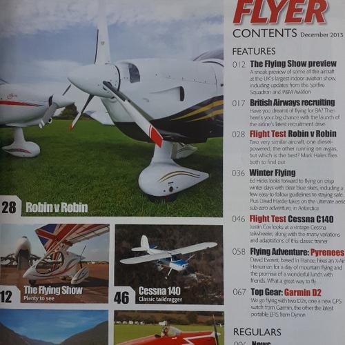 مجله FLYER دسامبر 2013