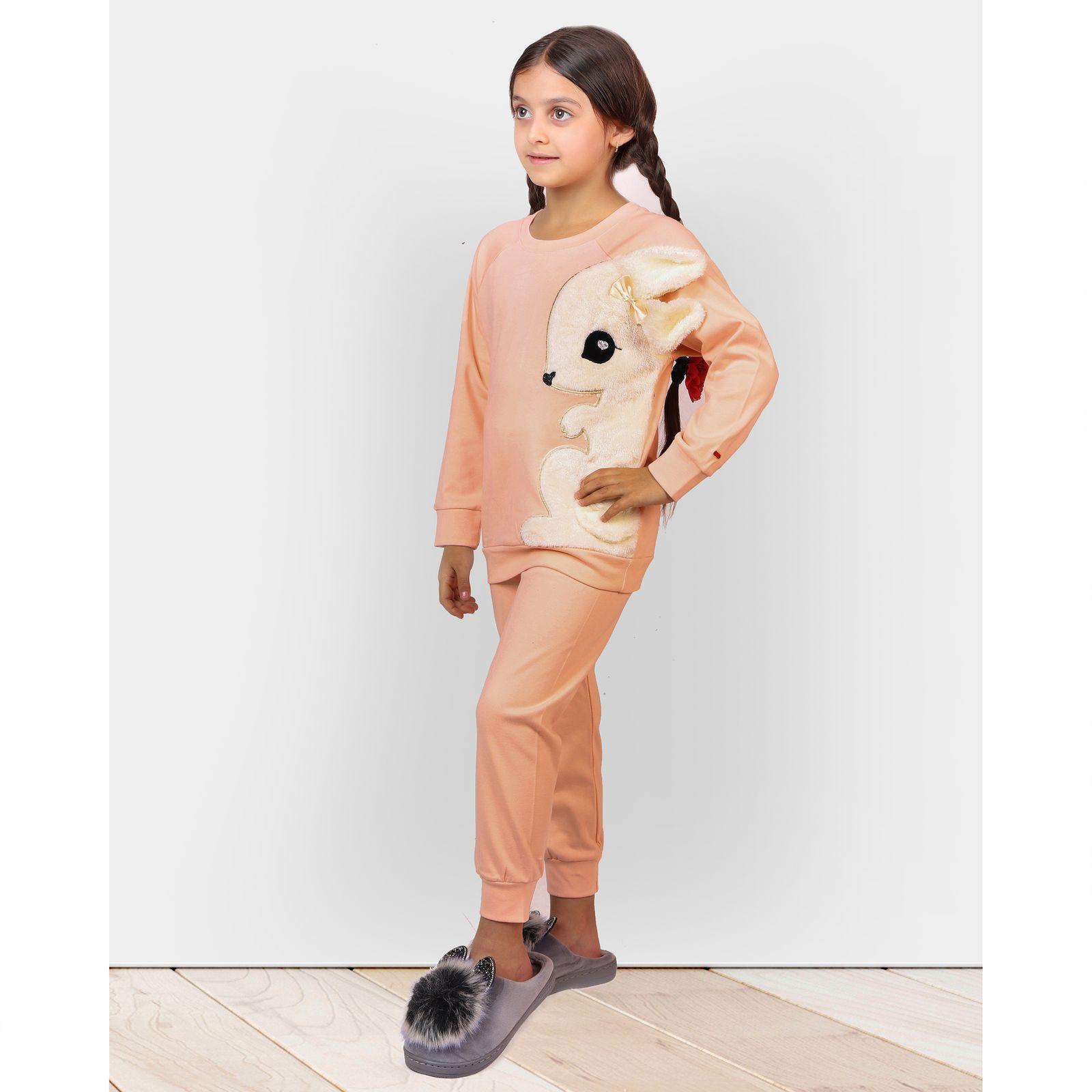 ست تی شرت و شلوار دخترانه مادر مدل 302-80 main 1 10
