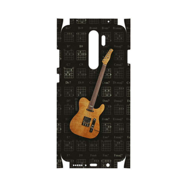 برچسب پوششی ماهوت مدل Guitar-Instrument-FullSkin مناسب برای گوشی موبایل شیائومی  Redmi Note 8 Pro