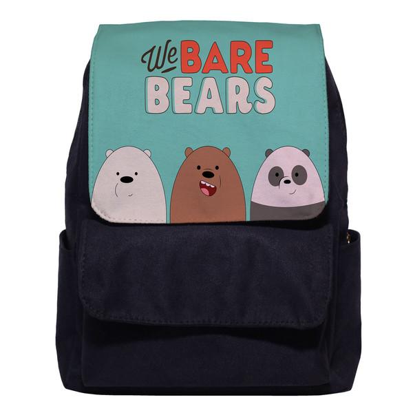 کوله پشتی طرح خرس های پچول کد 3029