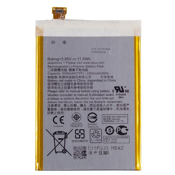 باتری موبایل مدل C11P1424  ظرفیت 3000  میلی آمپرساعت مناسب برای گوشی موبایل ایسوس Zenfone 2