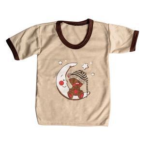 تی شرت آستین کوتاه نوزادی مدل AM 245