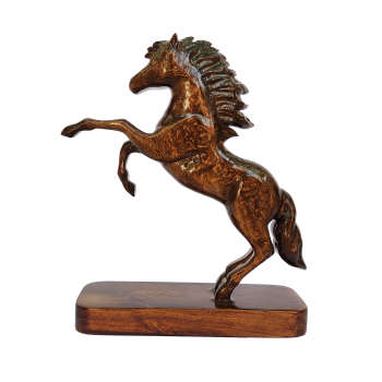 مجسمهچوبیطرح اسب مدل RS 9012