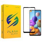 محافظ صفحه نمایش فلش مدل +HD مناسب برای گوشی موبایل سامسونگ Galaxy A21s