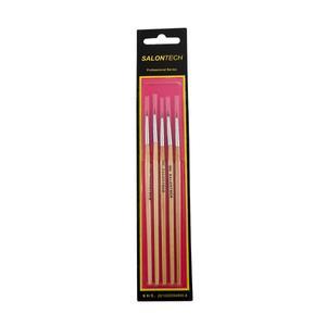 قلم موی طراحی ناخن سالن تک مدل sx2 بسته 5 عددی