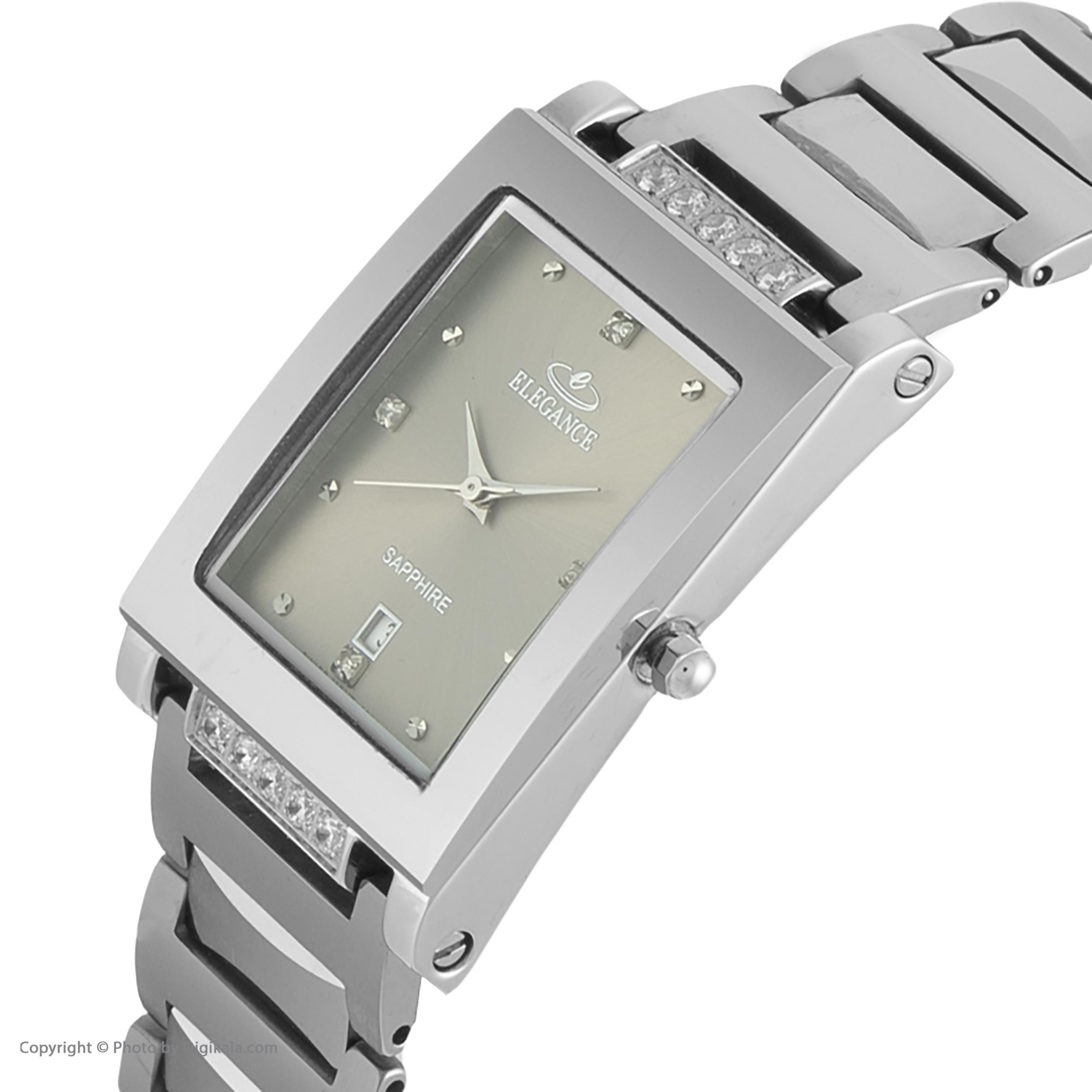 ساعت مچی عقربه ای الگانس مدل 4011