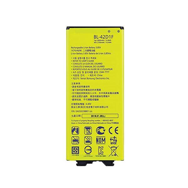باتری موبایل مدل LG G5 SE ظرفیت 2800 میلی آمپر ساعتمناسب برای گوشی موبایل ال جیG5
