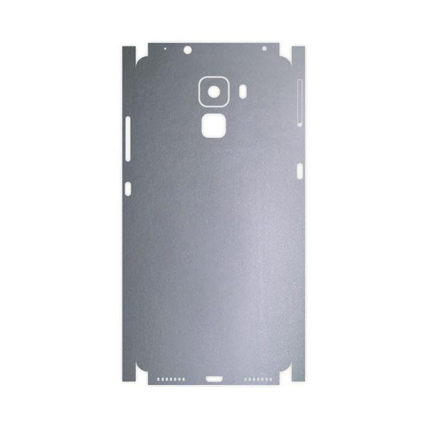 برچسب پوششی ماهوت مدل Matte-Silver-FullSkin مناسب برای گوشی موبایل آنر 7